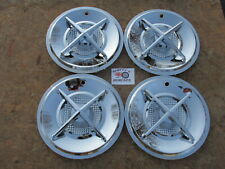 """15"""" CROSS BAR WHEEL COVERS, HUBCAPS, SET OF 4, ~CLEARANCE SALE~"""