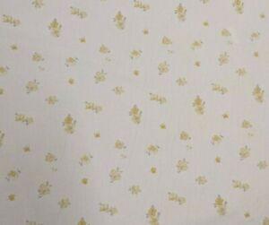 Laura Ashley Abbeville Camomile fabric **PER METRE**