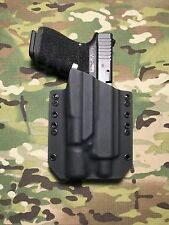 Black Kydex Light Holster Glock 19 GEN5 Threaded Barrel Surefire X300 Ultra A