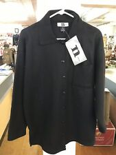 One Step Up Plus Women's Polyester Soft Sweater Black Long Sleeve NWT Small D31