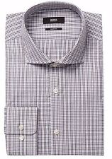 NWT HUGO BOSS Mark Oxford Sharp Fit Dress Shirt Long Sleeve Sz 17.5 L