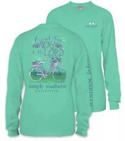 New S Simply Southern Commit Your Way To The Lord  Small T Shirt Long Sleeve