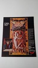 "Aerosmith ""Pandora'S Box "" Rare Original Print Promo Poster Ad"
