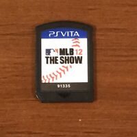 MLB 12: The Show PS Vita Game Cartridge Only - TESTED WORKS!!!