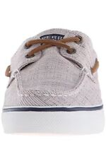 Sperry Top-Sider Women's Bahama Canvas Hatch Boat Shoes Taupe Size 10.0M $80
