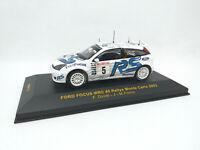 IXO 1:43 - RAM112 Ford Focus WRC #5 Rallye Monte Carlo 2003 Duval - Fortin