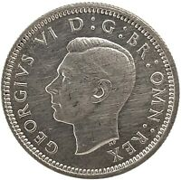 1938 SIXPENCE SILVER GEORGE VI,  - GREAT BRITAIN Coin.KM#852