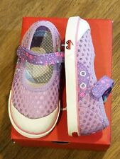 "New See Kai Run ""Saylor"" purple water-friendly mesh mary jane sneakers,12 ,NWT"