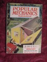 POPULAR MECHANICS Magazine August 1957 RV's DC-3 '57 MERCURY