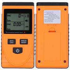 Magnetic Electric Electromagnetic EMF Field MicroTesla V/m Tester Meter Detector