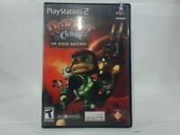 RATCHET AND CLANK UP YOUR ARSENAL Playstation 2 PS2 w/ Original Box Acceptable
