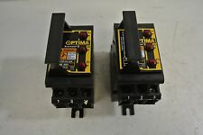 LOT of  2 Bussmann Optima Overcurrent Protection Module Cat: OPM-CC