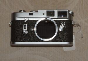 Leica M4 Rangefinder Camera Chrome Body only - Ex++ condition