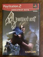 Resident Evil 4 (PlayStation 2, 2005) Perfect