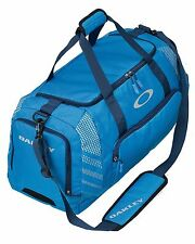 """Oakley 85L Large Sport 28"""" Blue Duffle Bag Made For Travel Or The Gym - New"""