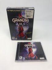 GRANDIA II 2 PC CD ROM Big Box RPG