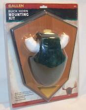 Allen Deer Buck Horn Antler Mounting Kit 562 Trophy Taxidermy Green Skull Cover