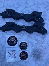Aluminum Skating Frame 243/80mm black BRAND NEW