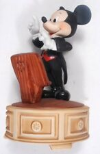 Musical Mickey Mouse Conductor Figurine - slowly plays the Mickey Mouse March