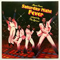 THE DISCOS - Music From SATURDAY NIGHT FEVER / 1977 Disco Soul Vinyl LP / VG+