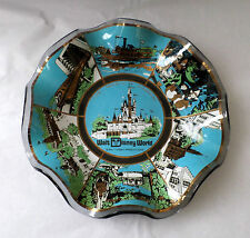 Vintage 1970's Walt Disney World Magic Kingdom Decorative Collector's Plate