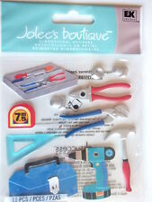 JOLEES BOUTIQUE STICKERS - TOOLS DIY handyman tool box
