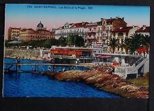 374-SAINT-RAPHAEL -755 Les Bains et la Plage.