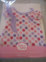 American Girl BITTY BABY Doll CLOTHES COLORFUL DOTS OUTFIT Pajamas  NEW