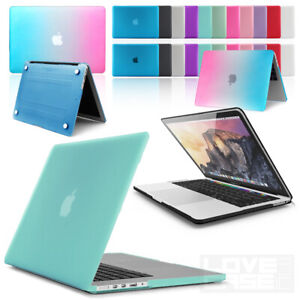 """Rubberized HARD Case, Cover For Apple Macbook Pro & Air 11"""", 12"""", 13"""", 15-inch"""