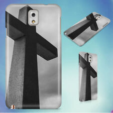 BLACK AND WHITE CEMETERY CHRIST CHURCH HARD CASE FOR SAMSUNG GALAXY PHONES