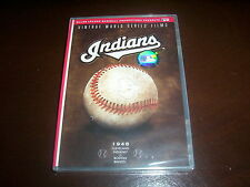 CLEVELAND INDIANS Vintage World Series Classic Baseball Major League A&E DVD NEW