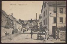 1910s POSTCARD BEAUCOURT FRANCE RUE SAINTE DIZLER VIEW