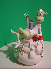 LENOX A GRINCHY MOMENT sculpture NEW in BOX w/COA  Grinch