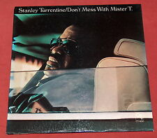 STANLEY TURRENTINE LP ORIG US CTI DON'T MESS WITH MISTER T