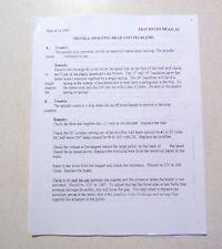 LeBlond Regal Lathe Repair Manual Step-by-Step