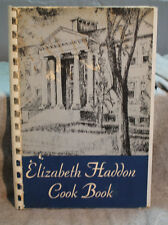 rare old ELIZABETH HADDON Home School COOK BOOK cookbook Bea Kirk editor