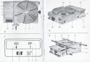 Teilapparat WMW Heckert Bedienungsanleitung optischer Rundteiltisch Mikromat 315