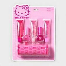 HELLO KITTY Lip Gloss & Nail Polish Set Girls - NEW