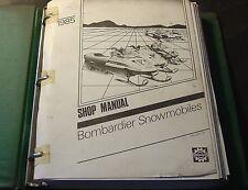 1985 BOMBARDIER SKI-DOO  SNOWMOBILE SHOP SERVICE MANUAL  (964)