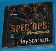Spec Ops Stealth Patrol - Sony Playstation - PS1 PSX - PAL