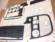 SAAB 900 1987 -1994 CONVERTIBLE FIT RHD LHD BLACK CARBON FIBER DASH TRIM CAR KIT