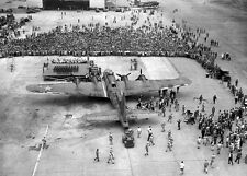 WWII Photo B-17 Flying Fortress Memphis Belle WW2 B&W World War Two USAAF / 5127