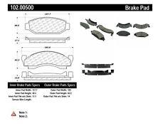 Disc Brake Pad Set-RWD Front Centric 102.00500