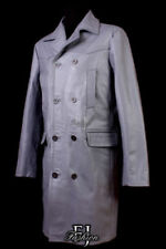 Cappotti e giacche da uomo grigi bottone , Taglia XXL