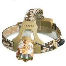 New Camo Style T6 Led Headlight Headlamp 2000lm reflector 3mode Head Light lamp