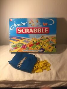 Mattel Scrabble Replacement Bag And Letter Tiles - ALL 84 TILES!