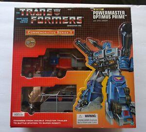 Transformers Commemorative Series II - PowerMaster Optimus Prime  - Brand New