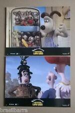 """8 PHOTOS DU FILM D'ANIMATION """"Wallace et Gromit LE MYSTERE DU LAPIN-GAROU"""" 2005"""