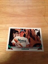 Topps 1993 Jeff Conine #789 Florida Marlins Major Leagues Modern (1981-Now)