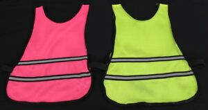 High Visibility Hi Vis Running Vest Reflective Cycling Bib Safety Top